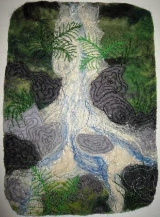 'Welsh Mountain Stream' - Jenny Witchard